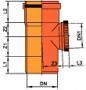 Тройник 87°30' внешней канализации