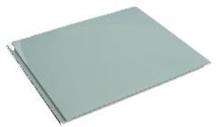 Безшовная пластиковая панель, лаковая, цвет белый, за 1 кв.м