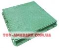 Зеленый люк пластиковый квадратный А15 садовый 1 т