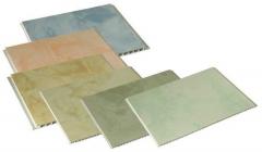 Безшовная пластиковая панель, глянцевая цветная, за 1 кв.м