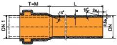 Трубы канализационные с PVH SN4, S20
