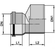 Редукций для труб разных диаметров